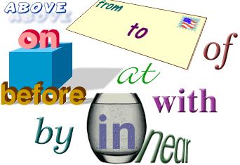 Предлоги места в английском